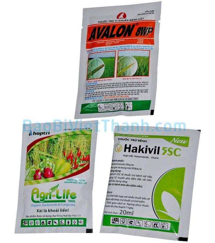 Bao bì nông dược - Bao bì thuốc trừ nấm bệnh