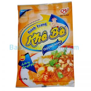 Bao bì thực phẩm khô - Bánh tráng khô bò