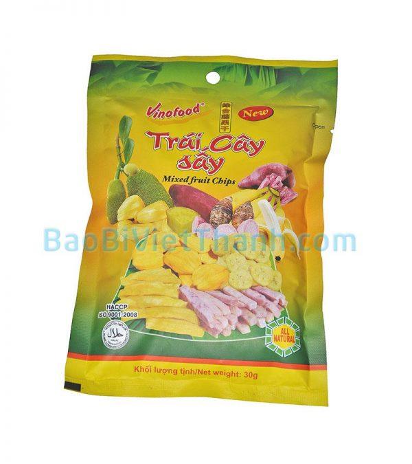Bao bì thực phẩm khô trái cây sấy