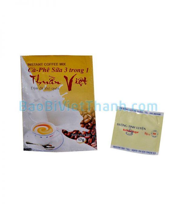Bao bì cafe hòa tan - Thuần Việt