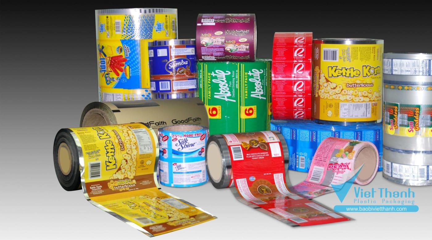 Sản phẩm bao bì nhựa - Bao bì nhựa Việt Thành