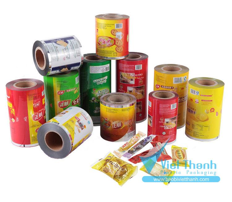Bao bì nhựa mềm - Bao bì nhựa Việt Thành