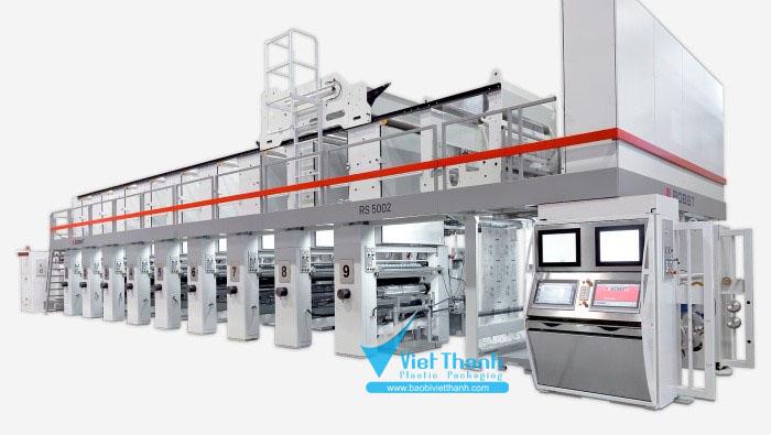 Máy sản xuất bao bì nhựa - Máy in ống đồng
