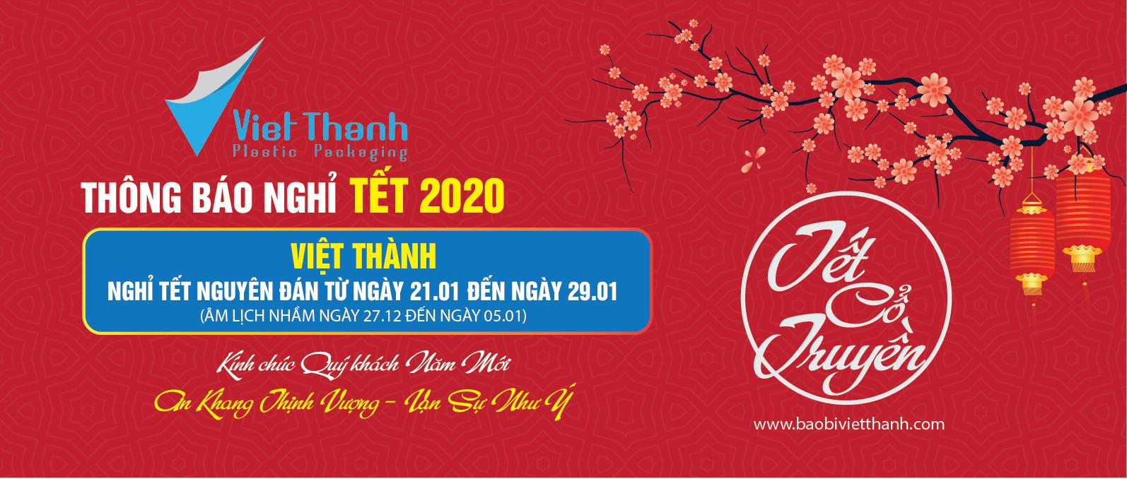 Banner Website Việt Thành năm mới 2020