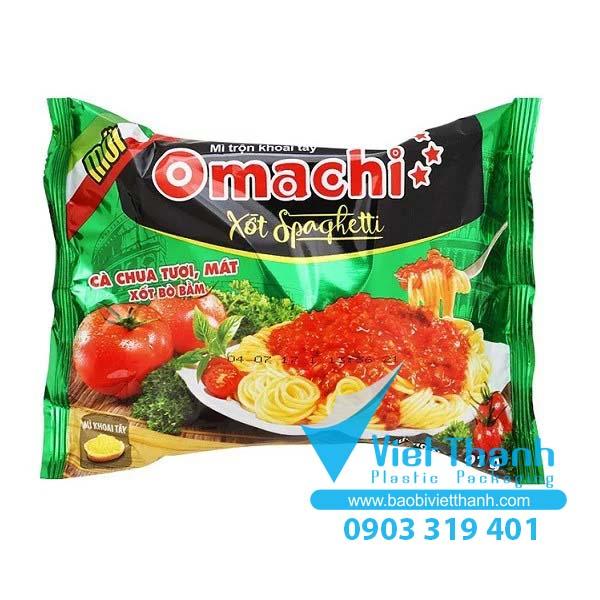 Bao bì mì ăn liền - Omachi