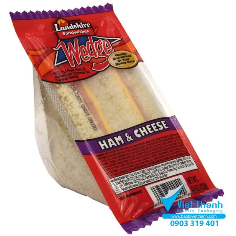 Bao bì nhựa đựng bánh dễ cắt
