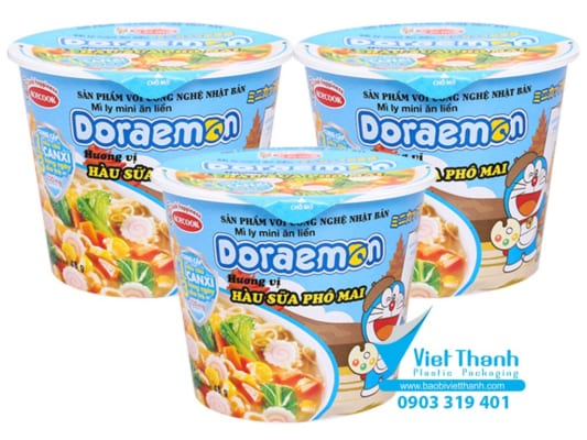 Nắp mì ăn liền - Bao bì nhựa Việt Thành